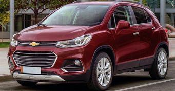 Фотошпионы: Chevrolet тестирует преемника кроссовера Tracker