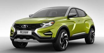 LADA XCode могут оснастить платформой Renault-Nissan