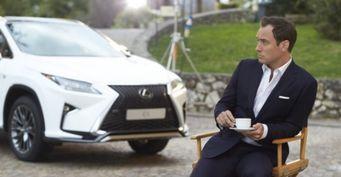 Lexus позволит любому желающему «управлять» актером Джудом Лоу
