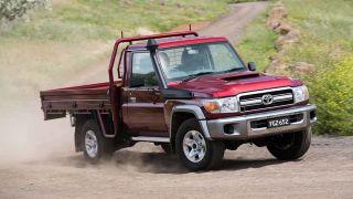 Toyota Land Cruiser 70. Фото: Toyota