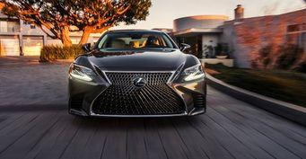 Lexus LS в 2018 году получит мотор V6