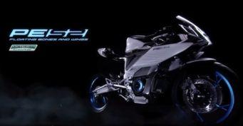 Представлен новый электрический байк Yamaha PES2