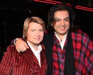 Филипп Киркоров и Николай Басков помирились на конкурсе