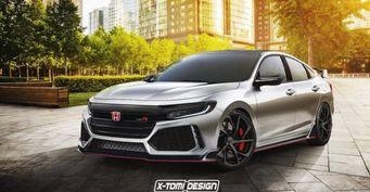 В сети появился рендер нового Honda Insight Type R