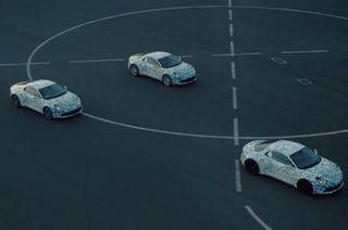 Спорткар Alpine A120 будет представлен на автосалоне в Женеве