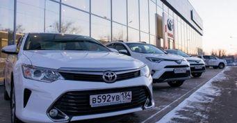 Toyota открыла новый дилерский центр в Волгограде