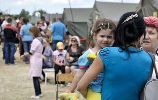 Беженцы из Славянска и Краматорска возвращаются домой
