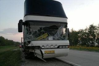 В Тамбовской области столкнулись «Ниссан» и автобус «Неоплан», один погибший