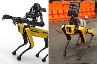 Универсальный помощник уже возит «людей» ипомогает им.Добавить мощности иповезёт робот даже человека. Фото: Boston Dynamics