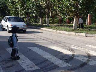 В Сыктывкаре водитель Kia Rio сбил мальчика 8 лет