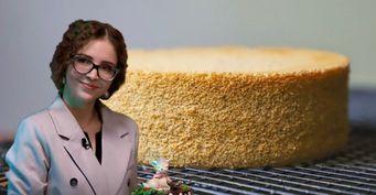 «Мягче ипышнее, чем классический»: Героиня шоу «Кондитер» поделилась рецептом ванильного бисквита