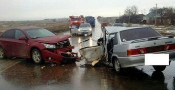 Три человека пострадали в «лобовом» ДТП на Ставрополье