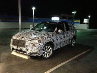 BMW X7 частично будет скопирован с Х5 и 7-series