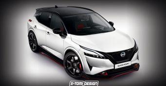 «Китайцы» уже впанике: «Заряженный» Nissan Qashqai нового поколения показан нарендерах