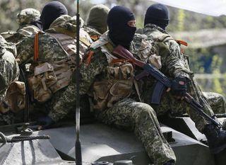 Под Мариуполем разгромлена колонна украинских военных