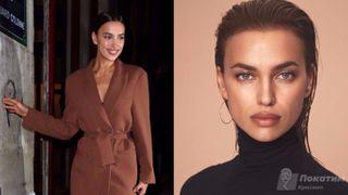 Образы Ирины Шейк вдохновляют женщин одеваться так же. Коллаж автора «Покатим»