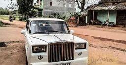 «Жигуар»: В сети показали ВАЗ-2107, переделанный под Rolls-Royce