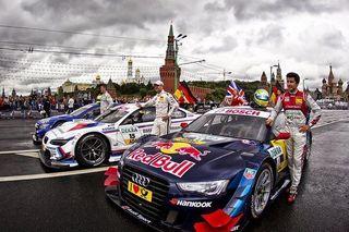 В Москве прошло седьмое автомобильное шоу Moscow City Racing