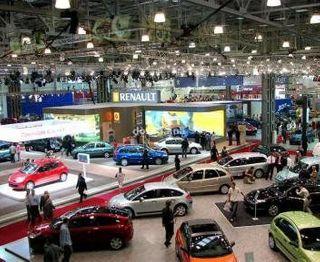 Автосалон SIA в Киеве впервые отменили
