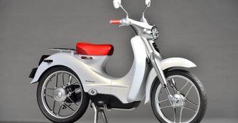 Honda подтвердила выпуск первого электроскутера в 2018 году