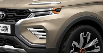 «Аркане» пора на выход: Кросс-купе LADA 4×4 Vision Coupe показано нарендерах