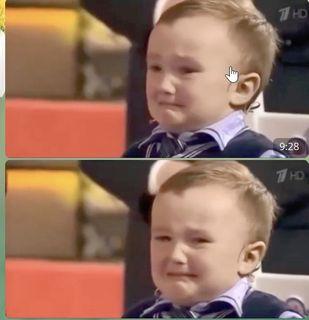 Фото: Малыш плачет и зовёт маму