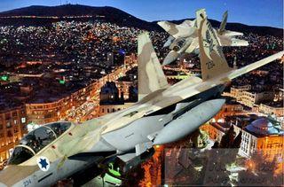 Фото: Израильские ВВС атаковали Дамаск, pokatim.ru
