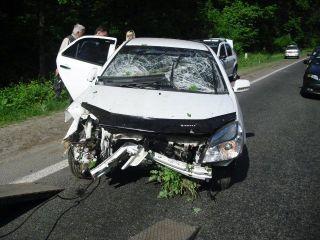 В Воронежской области пострадали в ДТП 4 человека
