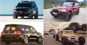 Составлен ТОП-10 самых интересных модификаций Toyota Land Cruiser