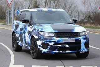 Range Rover Sport SVR стал быстрейшим внедорожником Нюрбургринга