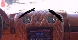 «Не показывайте это тюнерам!» – «Колхозный» тюнинг УАЗ-3151 «под Гелик» взорвал сеть