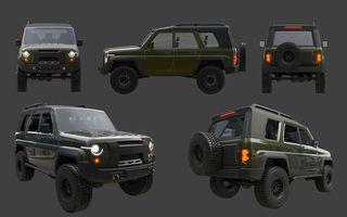 Фото: Концепт  нового УАЗ «Хантер», источник: УАЗ