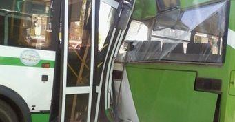 Два человека пострадали в ДТП с автобусами в Сыктывкаре