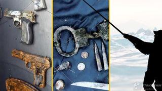 Оружие и другие боеприпасы из 90-ых. Автор изображения Нина Беляева.