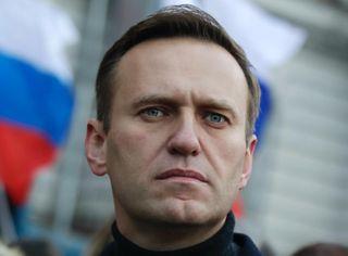 Алексей Навальный, отравленный всамолёте. //Фото: «Эхо Киева»