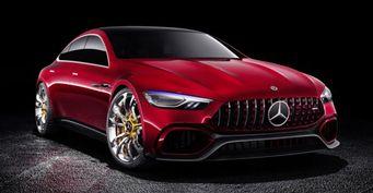 В Женеве дебютировал гибридный концепт Mercedes-AMG GT Concept