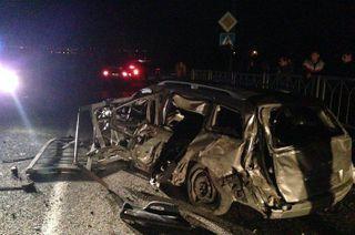 В результате масштабного ДТП в Краснодарском крае погибли 3 человека