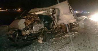 Водитель грузовой «ГАЗели» погиб в результате ДТП в Башкирии