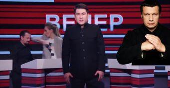 Соловьёв перевёл стрелки наТНТ: Пародия Азамата удалена из-за «странной политики канала», убеждает ведущий
