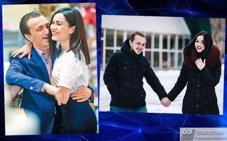 Денис Дорохов с женой Эльвирой. Фотоколлаж Покатим.ру