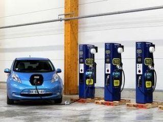 В 2015 году в Москве появятся станции для подзарядки электромобилей