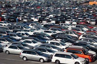 В России продажи подержанных автомобилей в сентябре стали снижаться