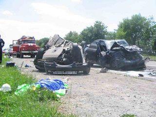 В  ДТП под Москвой скончался человек, есть трое пострадавших