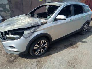 Машина сгорела из-за «качественной» сборки «АвтоВАЗа», источник: Drive2