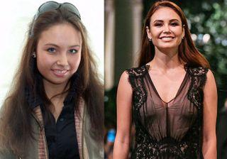 Ляйсан Утяшева до и после замужества / Фото: pokatim.ru