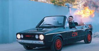 Мангал наколёсах: Старый Volkswagen Golf GTI превратили вавто-шашлычную