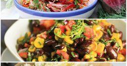 Лёгкие овощные салаты, которые затмят «дуэт» помидора и огурца