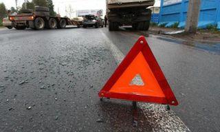 Под Петербургом на Рябовском шоссе в ДТП попал микроавтобус