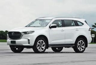 Фото: Рамный внедорожник Mazda, источник: Дзен-канал «Джипер»