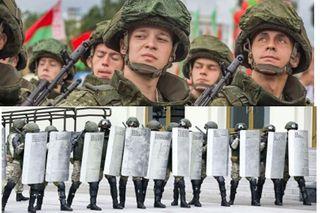 Белорусская армия и силовики. Источники фото: belvpo.com, cdn24.img.ria.ru